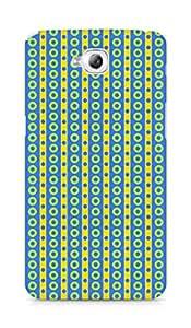 Amez designer printed 3d premium high quality back case cover for Lg Gpro Lite (Geometric Bright Pattern10)