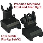 NEW Tactical Flip Up Iron Sight Rear/...