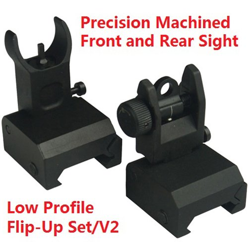 Trinity Force Tactical Flip Up Iron Sight Rear/Front Sight Mount (Backup Iron Sights compare prices)