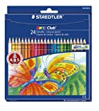 Staedtler Noris Club Colouring Pencils, 24 Pack