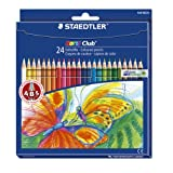 Staedtler Noris Club Colouring Pencils, 24 Packby Staedtler