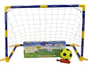 UKIC Football Set with Goal Football and Pump