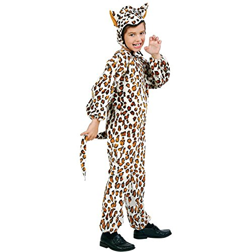 Kid's Leopard Halloween Costume (Size:Small 4-6)