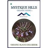 MYSTIQUE HILLS - ORGANIC BLACK CHIA (PREMIUM QUALITY) (1 KG)