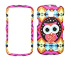 Cute Owl Design Rubberized Snap-on Protective Cover Case for Samsung illusion I110 Samsung Galaxy Proclaim S720