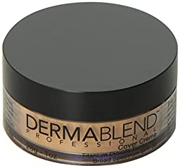 Dermablend Cover Foundation Creme SPF 30, Honey Beige Chroma, 1 Ounce