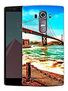 "Bridge Road Scenery Printed Designer Mobile Back Cover For ""LG G4"" By Humor Gang (3D, Matte Finish, Premium Quality, Protective Snap On Slim Hard Phone Case, Multi Color)"
