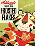 S4315 KELLOGG'S SUGER FROSTED FLAKES RETRO FINE WALL ART NOSTALGIC VINTAGE RETRO FUNNY METAL ADVERTISING WALL SIGN