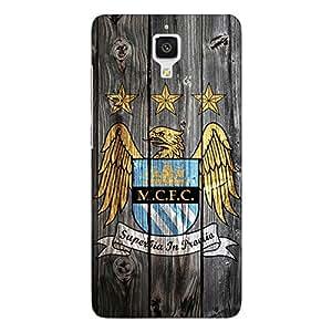 Jugaaduu Manchester City Back Cover Case For Xiaomi Mi4
