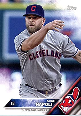 2016 Topps Team Edition #CI-10 Mike Napoli Cleveland Indians Baseball Card
