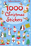 Fiona Watt 1000 Christmas Stickers (Usborne Sticker Books) (1000s of Stickers)