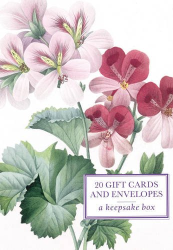 Tin Box of 20 Gift Cards and Envelopes: Redoute Geranium: A keepsake tin box featuring 20 high-quality fine-art gift cards and envelopes PDF