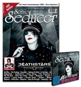 Sonic Seducer 02-09 inkl. Gothic Taschenkalender 2009 + CD-Beilage mit u.a. Deathstars, Sirenia, Zeromancer, Project Pitchfork u.v.m.