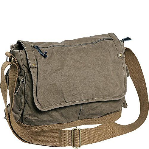 vagabond-traveler-casual-style-canvas-messenger-bag-military-green