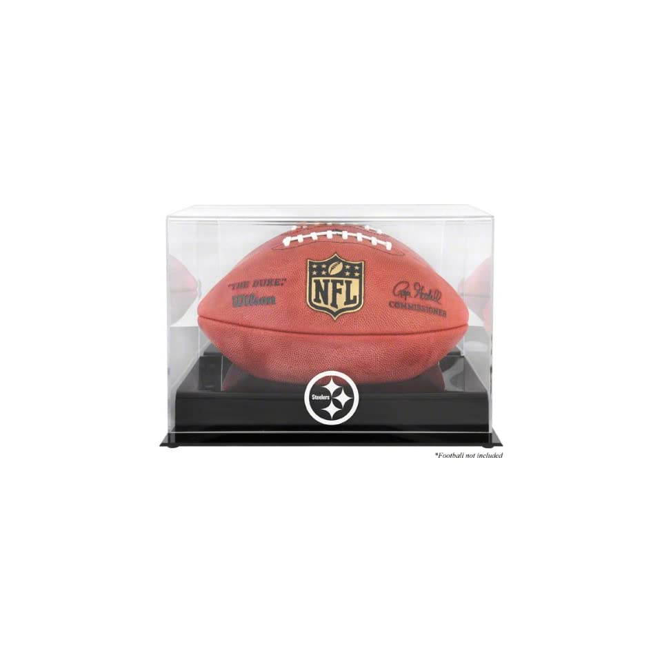Pittsburgh Steelers Team Logo Football Display Case