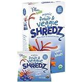 Plum Kids Organic Fruit And Veggie Shredz, Rooty Blues, 5-Count (Pack Of 8) (720g)