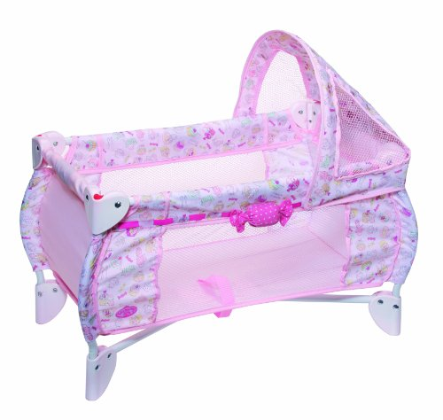 Zapf Creation 791073 - Baby Annabell 2-in-1 Reisebett