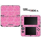 new3DSLL 【スキンシール】 New ニンテンドー 3DS LL /LP3/ピンクハート