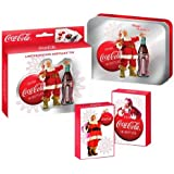 2008 COLLECTORS COCA-COLA 2 DECKS PLAYING CARDS IN LIMITED EDITION KEEPSAKE TIN