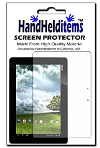 HHI Asus Transformer Prime Crystal Clear Screen Protector (Package include a HandHelditems Sketch Stylus Pen)