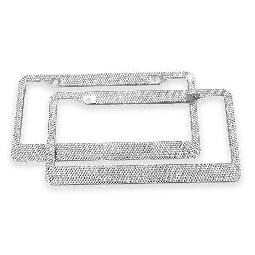 Diamond Bling License Plate Frames