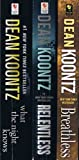 img - for Dean Koontz 13-Book Collection: What the Night Knows; Relentless; Breathless; By the Light of the Moon; False Memory; Strange Highways; One Door Away from Heaven; Mr. Murder; Twilight Eyes; Midnight; Phantom; From the Corner of His Eye; Intensity book / textbook / text book