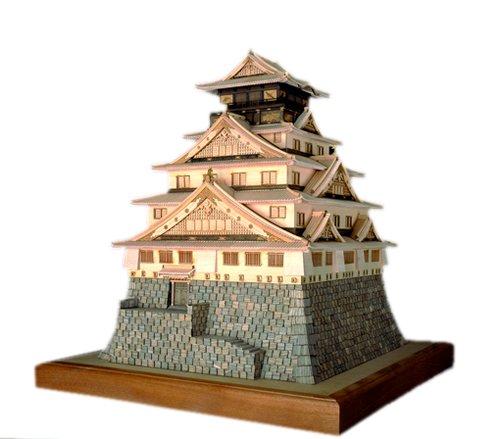 木製 1/150 大阪城