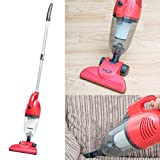 Babz 800W 2-in-1 Upright Stick & Handheld Vacuum Cleaner with HEPA and Sponge Filtration