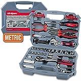 Hi-Spec 67 Piece METRIC Auto Mechanics Tool Set - Professional 3/8