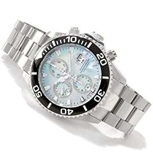 INVICTA Mens RESERVE Pro Diver Swiss Made Valjoux 7750 Automatic Chronograph Watch 1067