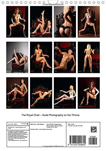 The Royal Chair - Nude Photography on the Throne (Calvendo Art)