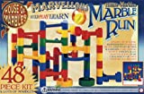 House of Marbles 48 Piece Marble Run