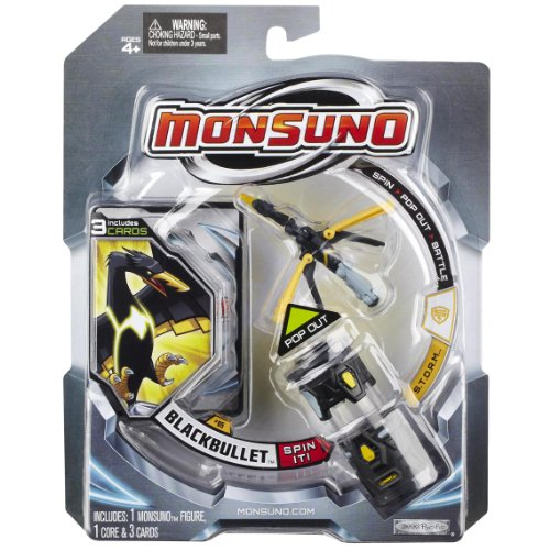 Monsuno Core 1-Pack - Wave #1 - Storm/Blackbullet