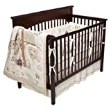 Nature's Jungle 4 Piece Crib Bedding Set by Bananafish