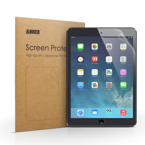 Anker® Screen Protector for iPad Air iPad 5 [Generation 5] [2-Pack] - Highly-Transparent Anti-Glare Anti-Fingerprint (Matte) with Lifetime Warranty