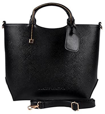 Hynes Eagle Womens Patent Leather Boutique Tote Bags Top Handle Handbag