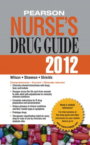 Pearson Nurse's Drug Guide 2012 (Pearson Nurse's Drug Guide (Nurse Edition))