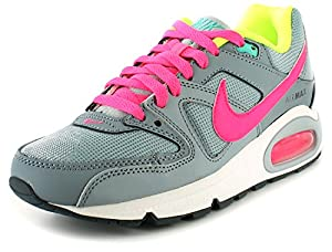 Nike - Basket Pour Fille Nike Air Max Couleur Gris / Rose / Jade Neuf - Gris / Rose / Jade, Maille, 19