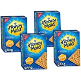 Honey Maid Graham Crackers (14.4-Ounce Boxes, 4-Pack)