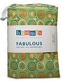 Bummis Fabulous Diaper Wet Bag, Green, Large
