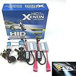 See BORSEE ? HID Xenon Bulb H9006 12V 35W AC AutomoBile Xenon Headlight Set (Random Color) , 8000K Details