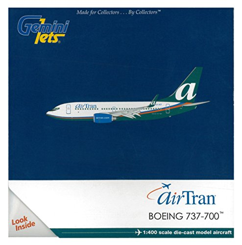Gemini Jets Airtran B737-700W Diecast Aircraft (1:400 Scale) (Airtran Model compare prices)