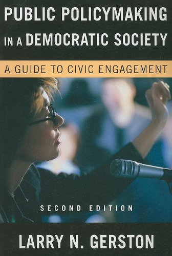 Public Policy-Making in Democratic Society: A Guide to...