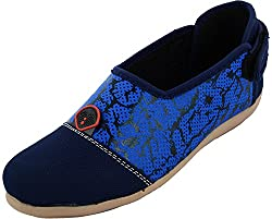 Red Rivin Girls Blue Synthetic Casual Shoes - 39 EU