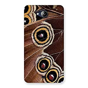 Wings of Butterflies Print Back Case Cover for Canvas Play Q355