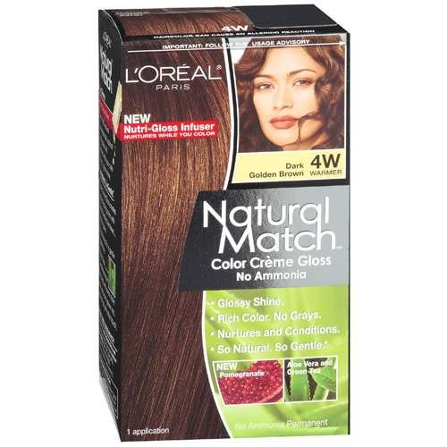 loreal color match hair color
