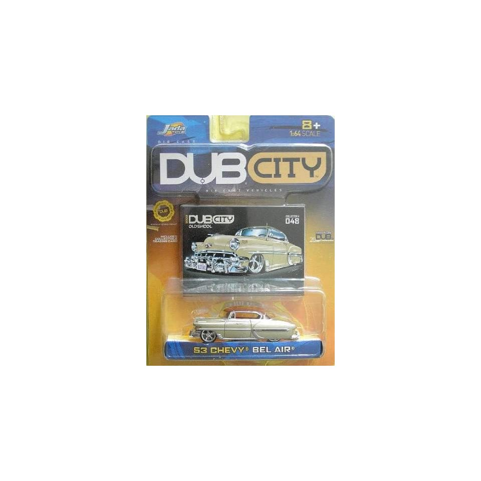 Jada Dub City 1953 Chevy Bel Air 164 Scale Die Cast Car