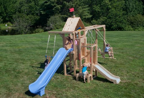 Cedarworks Frolic 5 Swing Set