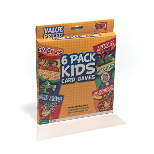 Bicycle Classic Kid's Card Games (6-Pack) - 1