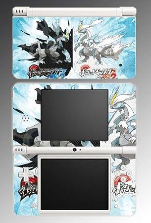 Pokemon Black and White 2 Kyurem Legendary Video Game Vinyl Decal Cover Skin Protector #22 for Nintendo DSi XL